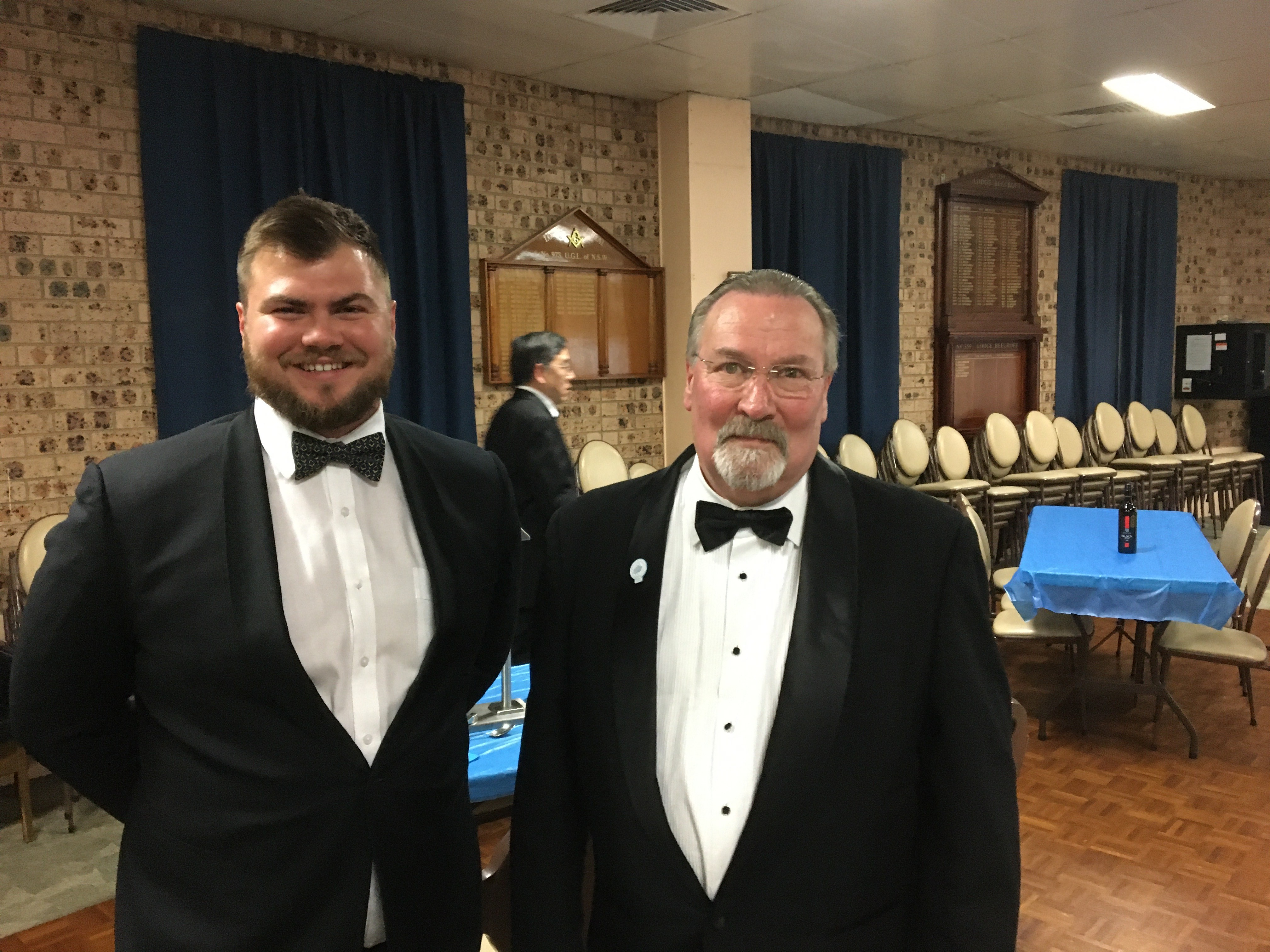 Aussie master and Chris